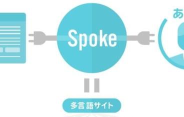 WEBサイト多言語化ツール-spoke